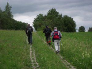 Wanderung auf dem Kolonnenweg