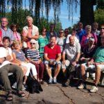 Das Foto zeigt die Teilnehmer der großen Rhönwanderung 2015.